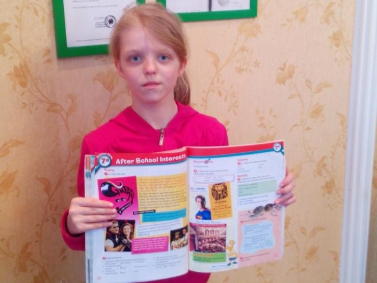 Мария Бирюкова: «Я люблю английский»
