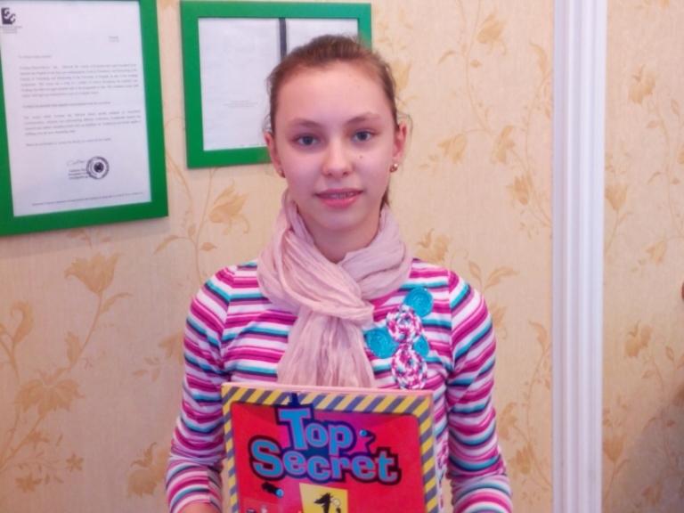 """Алина Шмарова: """"Я люблю английский"""""""